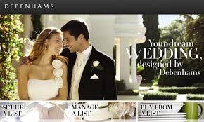 wedding gift debenhams wedding gift registry options in ireland