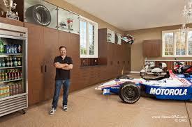 designing a garage garage makeover celebrity apprentice indycar owner michael andretti