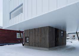 japan u0027s cyin house on stilts shelters a small winter garden