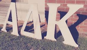 design wood to use for 3ft sorority letters woodworking stack