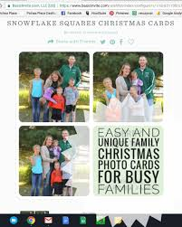 and unique family photo cards for busy families