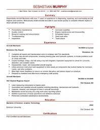 Cover Letter For Auto Mechanic Mechanic Resumes Resume Cv Cover Letter