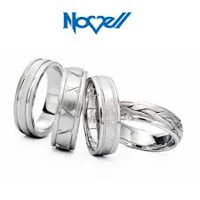 novell wedding bands novell