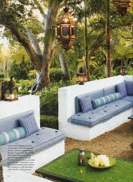 moroccan inspired outdoor room by helene aumont the great