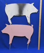 fiberglass pig statues lawn ornaments ebay