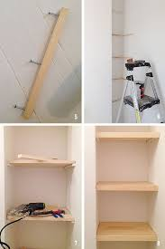 Build A Wood Shelving Unit by Best 25 Building A Pantry Ideas On Pinterest Pantries Pantry