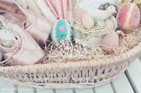 princess easter basket diy vintage inspired easter baskets