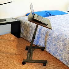 Rolling Table Desk Bedside Rolling Table Affordable Best Wooden Bedside Table Ideas