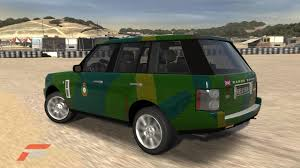 army green range rover forza 3 demo on live from today