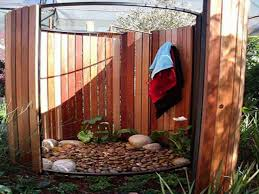Outdoor Shower Ideas Outdoor Christmas Decorating Ideas Rustic Outdoor Showers Diy