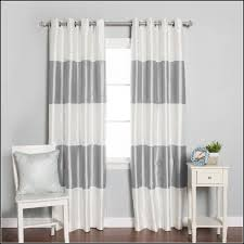 Gray Eclipse Curtains White Light Blocking Curtains Alluring Wallace White Blackout