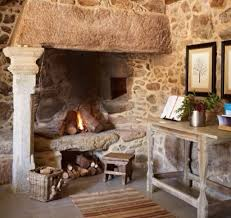 fabulous period fireplace french country cottage brittany country decor