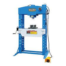 shop press pneumatic press hsp 75a baileigh industrial