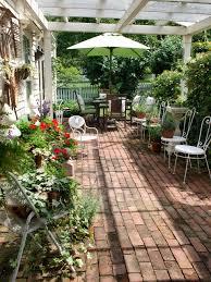 garden design and outdoor patio furniture including vintage