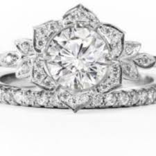Flower Wedding Ring by Flower Rings Flower Engagement Rings And Wedding Bands