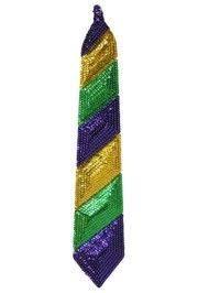 mardi gras ties mardi gras sequin tie 19 5 inches x 3 5 inches
