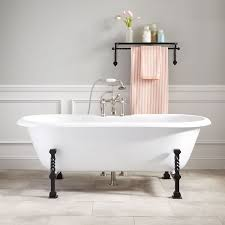 ralston cast iron double ended tub gothic feet bathroom