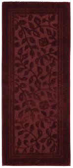 Mohawk Runner Rug Mohawk Home Wellington 2 X 5 Bath Runner Rug In Claret Ebay