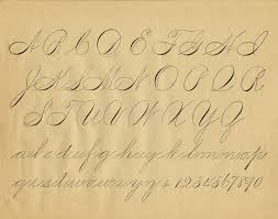 Antique Writing Paper Free Antique Clip Art Pen Flourishing Alphabet The Graphics Fairy