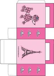 poodle cor de rosa poodles and caixas de brindes on pinterest