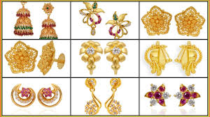gold ear ring image gold earrings designs gold earring gold
