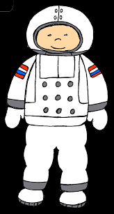 simple spaceman clipart the cliparts