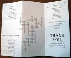 wedding programs vistaprint and the seating chart bicycle for two from vistaprint as seen on