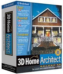 3d Home Design Software Broderbund Home U0026garden Design 3d Home Architect Deluxe 4 0 Old Version