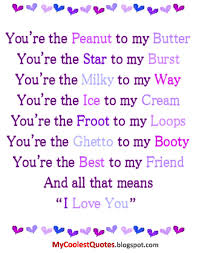 Quotes To Tell Him You Love Him by Your My Quotes Peanut To My Butter You Re The Star To My