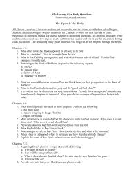 huckleberry finn study questions honors american literature mrs