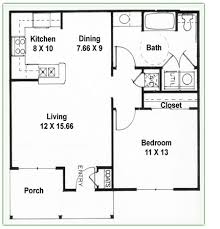 one bedroom one bath house plans enchanting 2 bedroom 1 bathroom house plans images best