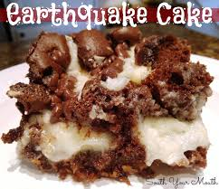 south your mouth earthquake cake