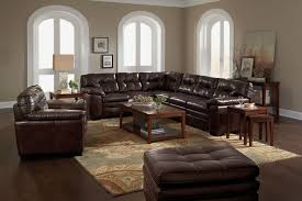 Value City Furniture Living Room Sets Magnum 2 Piece Sectional Brown Value City Furniture