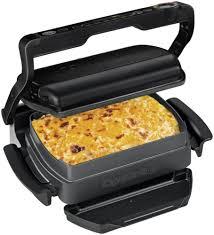 Tefal Sandwich Toaster Tefal Gc7148 Optigrill Snacking U0026 Baking Kontaktgrill Schwarz