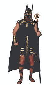 Egyptian Halloween Costume Mythical Creatures Anubis Egyptian God Mens Halloween