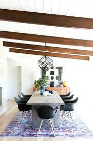 dining room framed art 91 long modern table with black chairs contemporary artwork for
