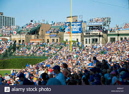 chicago cubs wrigley field right field bleachers with roof top chicago cubs wrigley field right field bleachers with roof top seats on buildings across the street from stadium