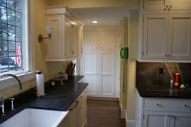 Glossy White Kitchen Cabinets Bathroom Classy Dark Brown Wood Farmhouse Sink Stand With