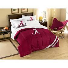 Alabama Bed Set Ncaa Alabama Crimson Tide 3pc Comforter Set Upholstered