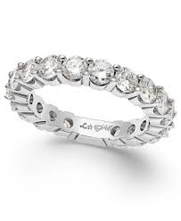 band gold sizeable diamond eternity band in 14k white gold 2 ct t w