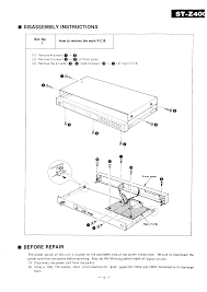 technics stz400 service manual immediate download