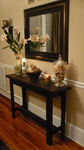 Hallway Accent Table Mesmerizing Mirror At The End Of A Hallway Pics Ideas Amys Office