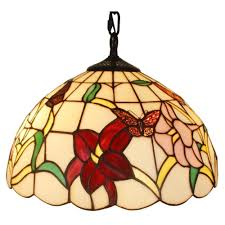 Ceiling Fans With Tiffany Style Lights Warehouse Of Tiffany Pendant Lights Hanging Lights The Home