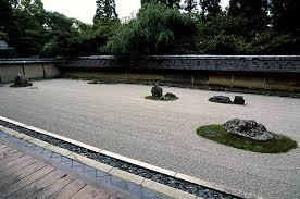 Rock Garden Zen Japan Kyoto Ryoanji Garden Zen Buddhism Rock Garden Pictures