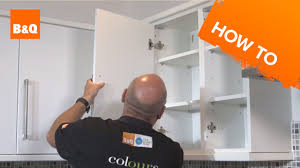 Changing Doors On Kitchen Cabinets How To Replace Kitchen Unit Doors Youtube