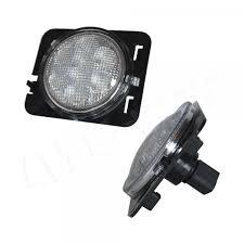 side marker light lens jeep wrangler jk side marker light smoked lens code 4 led supply