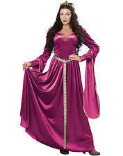medieval renaissance queen guinevere halloween costume ebay