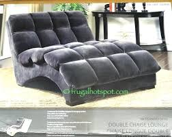 Double Chaise Lounge Cover Lounge The Awesome Double Wide Chaise Pertaining To Desire Indoor