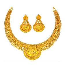 golden jewellery necklace images Gold jewellery gold necklace sets manufacturer from mumbai jpg