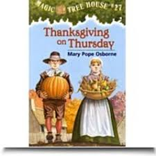 thanksgiving on thursday the magic tree house books